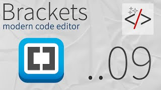 Brackets урок 9. Inline Editors для HTML - быстрое редактирование