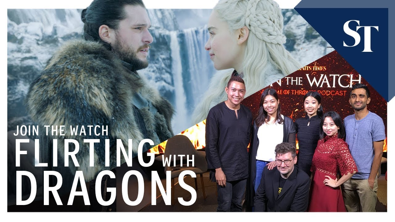 Dissecting Game Of Thrones s8 e1: Flirting With Dragons | Join the Watch podcast