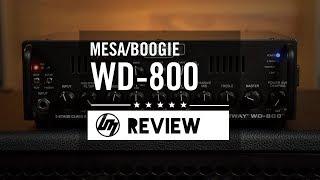 Mesa Boogie WD-800 Bass Guitar Amplifier | Better Music