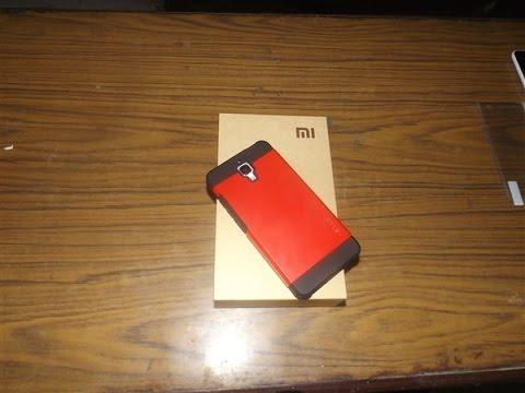 sale retailer f3ac1 d13fa Xiaomi Mi4 - Hard Ruberissed Spigen Case - Review   #Stylish #Protective