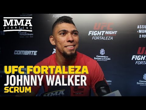 UFC Fortaleza: Johnny Walker Says He Wasn't Aiming For Justin Ledet's Head With Soccer Kick