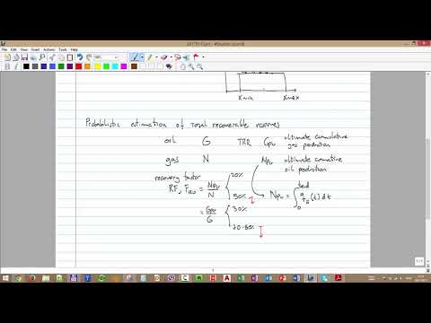 4 - Probabilistic reserve estimation - Monte Carlo method