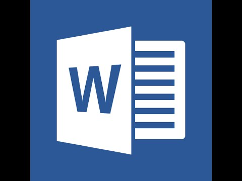 Microsoft Word 2016 Part 5 Reference Tab