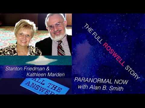 Stanton Friedman & Kathleen Marden ROSWELL UFO CRASH
