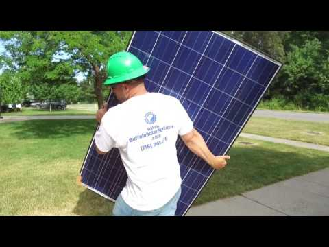 Solar Panel Installation - Lake View NY