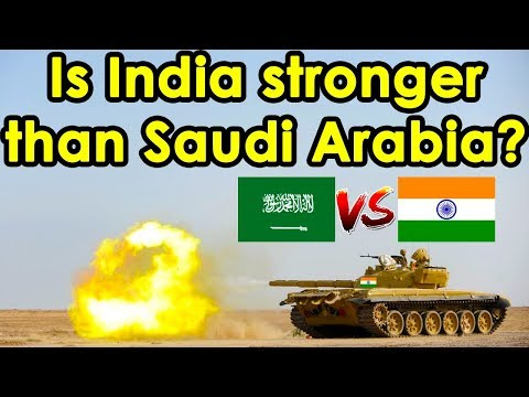India vs Saudi Arabia Military Comparison (2018)