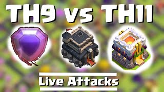 TH9 Titan vs. TH11 Legend | Clash of Clans | Quantum´s 8.9