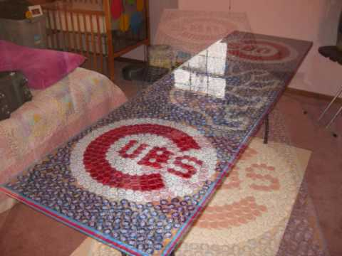 Chicago Cubs Beer Pong Table Youtube