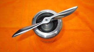 Как сделать металлический воздушный винт(Запуск самолёта https://www.youtube.com/watch?v=tE28quWzbsE Запуск двигателя с металлическим винтом ..., 2016-09-02T09:40:55.000Z)