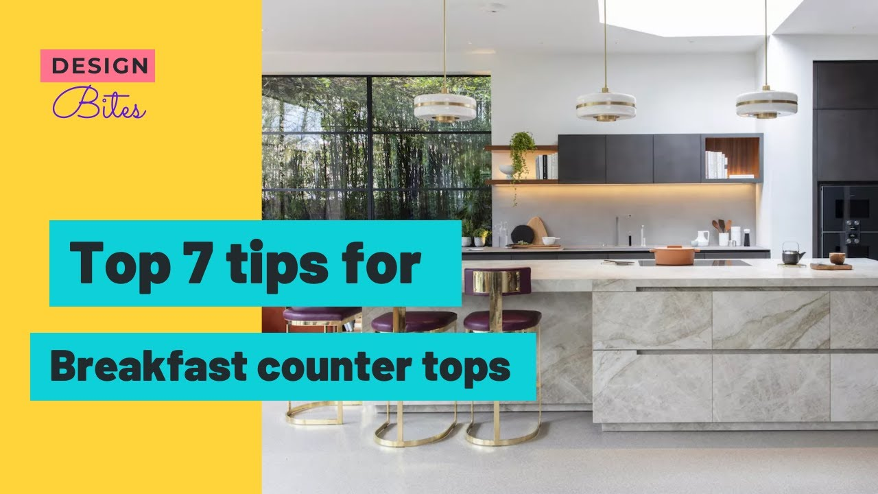 Top 7 tips for Breakfast counter | breakfast counter design ideas | Modular Kitchen Interior Design