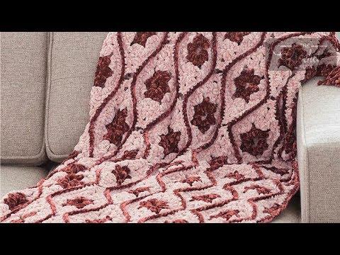 Crochet Moroccan Tile Afghan