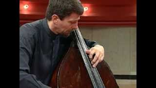 Bach Cello Suite No. 1, III. Courante - Jeff Bradetich, double bass