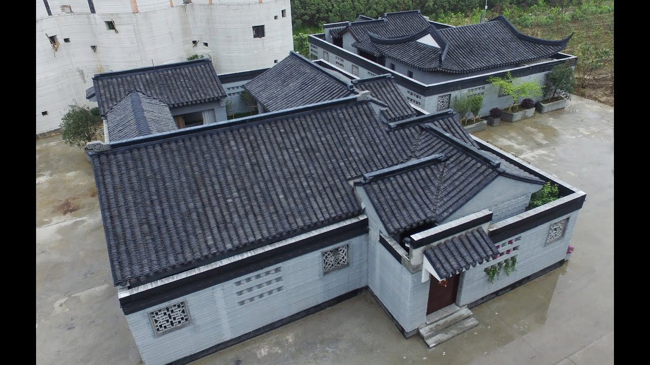 3D printers print Chinese courtyards in a week