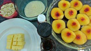 Baked Nectarine Crumble Recipe (Gluten Free, Grain Free)