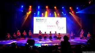Chinnan Chiru Pen Pole | Bharatanatyam | Kids Dance | Sagar'z Dance Academy | Dance Out 2018