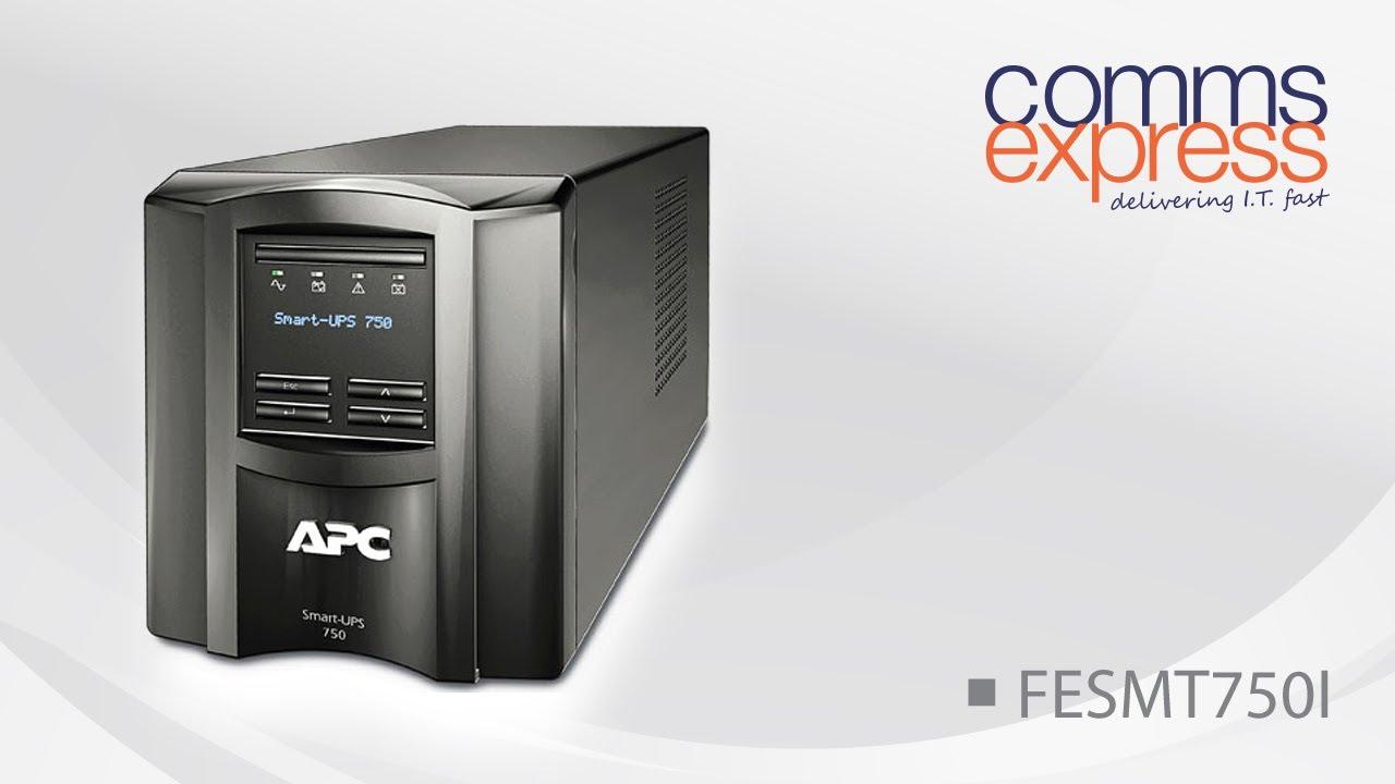 APC Smart-UPS 750VA Tower with LCD Display, 230V