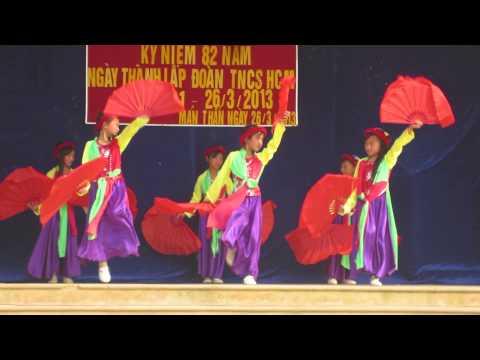 Múa Quạt- HS Tiểu Học Mản Thẩn- 26/3/2013