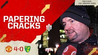 STILL NEED INVESTMENT! Man United 4-0 Norwich City | Andy Tate Fan Cam