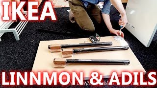 Ikea Linnmon & Adils (2x Conference Table) Setup & Review