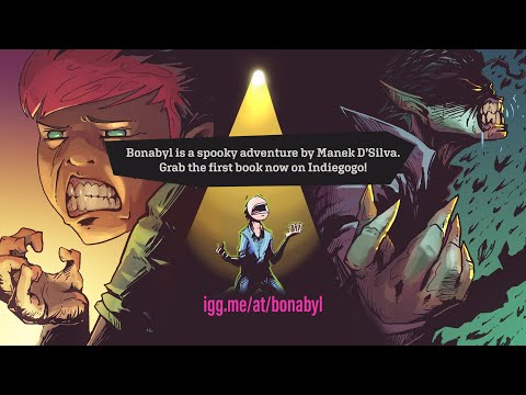 Bonabyl A Spooky Adventure Comic (Funding on Indiegogo)