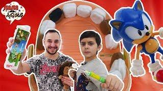 ПАПА РОБ и ЯРИК: почему важно чистить зубы! Электрическая зубная щетка CS Medica!