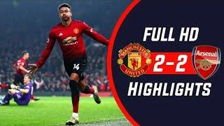 Hasil Pertandingan Manchester United vs Arsenal 2-2 tadi malam
