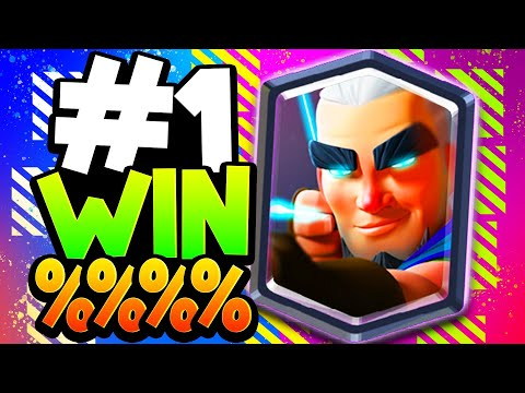 This Deck Has The BEST Win % In Clash Royale! (May 2020)
