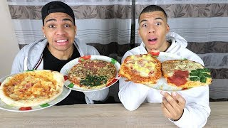 ORIGINALE PIZZA vs SELBSTGEMACHTE PIZZA !!! | PrankBrosTV