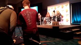 vic mignogna qrow crashes rwby q paradise city comic convention 2016