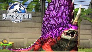 Max Level 40 Dimetrodon | Jurassic World™ The Game