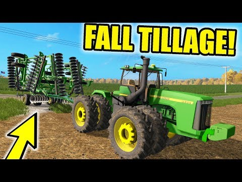 FARMING SIMULATOR 2017 | PULLING OUT THE 9400 FOR FALL TILLAGE | FRIDAY FARMING EP #40