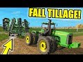 FARMING SIMULATOR 2017 PULLING OUT THE 9400 FOR FALL TILLAGE FRIDAY FARMING EP 40