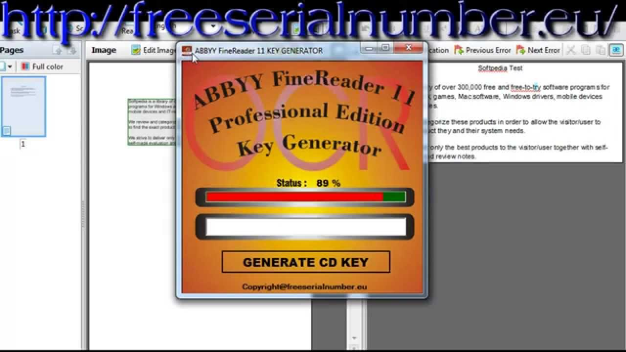 Abbyy Finereader 14 Crack Updated Keygen June 2019