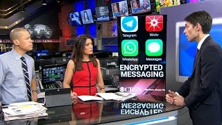 Terrorists using encrypted apps to communicate