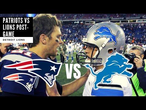 Lions VS Patriots Pre-Season Takeaways! What HAPPENED?! Detroit Lions Talk