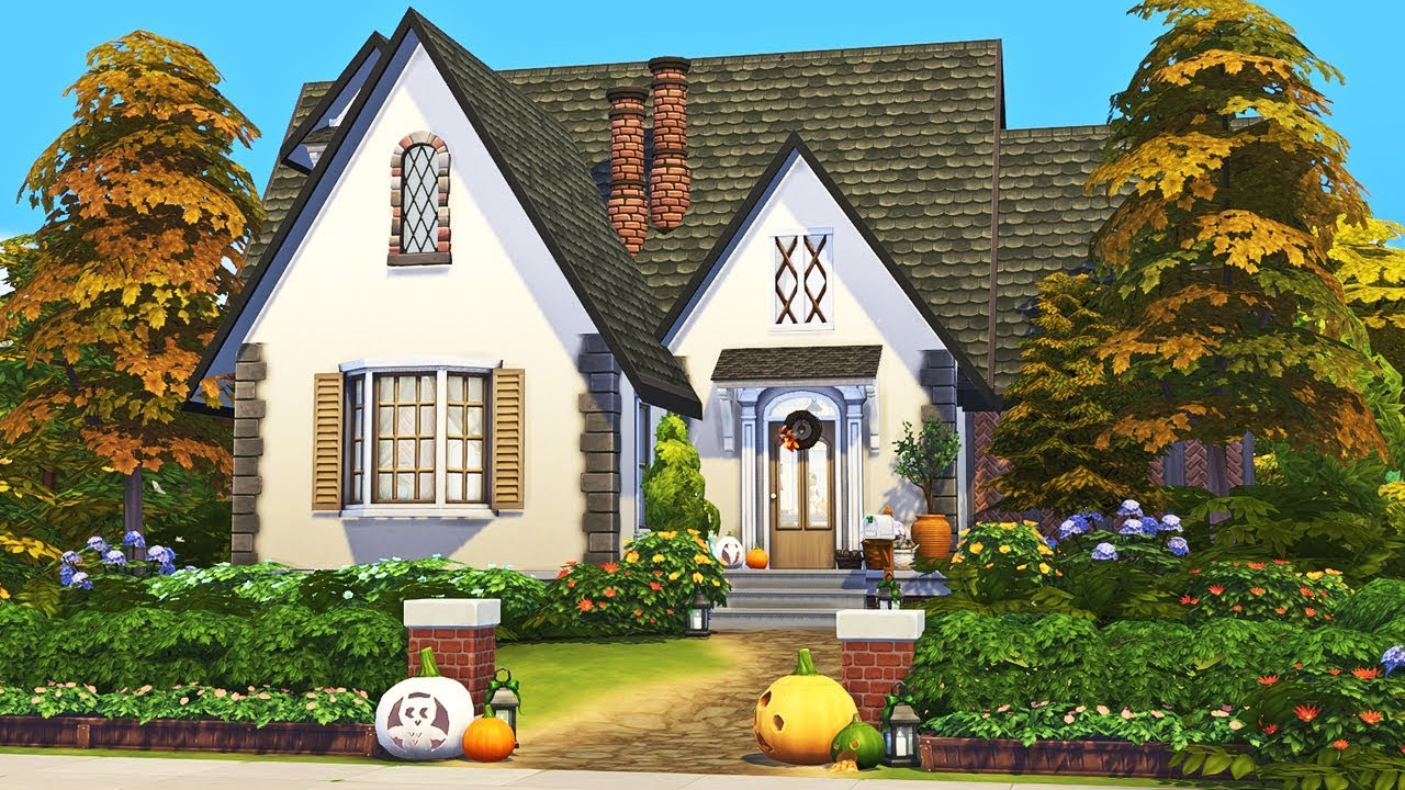 Watch Cozy Autumn Cottage 🌙🍂 || The Sims 4 Family Home