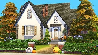 Cozy Autumn Cottage 🌙🍂 || The Sims 4 Family Home: Speed Build