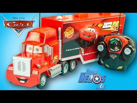 Cars Flash Mack Review Mcqueen Radiocommandé Toy Truck Disney Camion u15lFK3TJc
