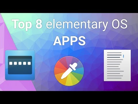 Top 8 elementary OS APPS thumbnail