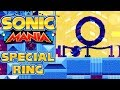 Sonic Mania - 5 Special Stage Rings in Studiopolis