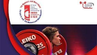 Women SJr, 72-84+ kg - World Classic Powerlifting Championships 2019