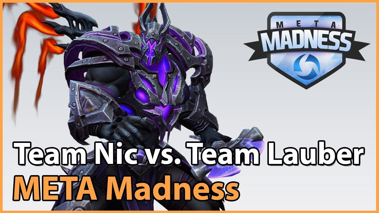 ► Team Lauber vs. Team Nic - META Madness Groupstage - Heroes of the Storm Esports