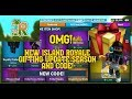 BRAND NEW ISLAND ROYALE GIFTING UPDATE SEASON AND CODE!
