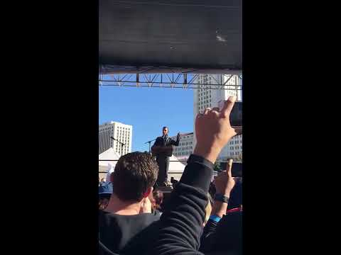 Women's March January 21, 2017: Eric Garcetti, Mayor of Los Angeles