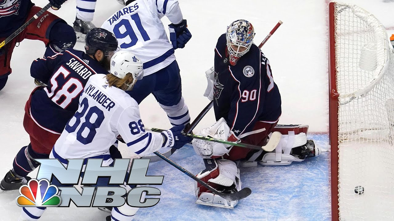 NHL Stanley Cup Qualifying Round: Leafs vs. Blue Jackets   Game 4 EXTENDED HIGHLIGHTS   NBC Sports
