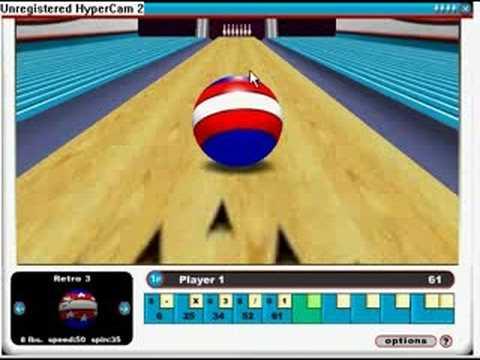 Miniclip Gutter Ball Gameplay