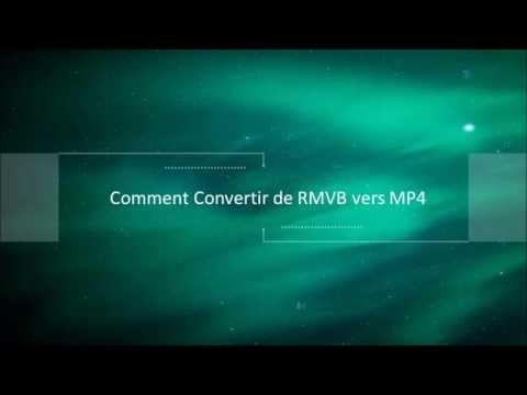 Convertir un fichier RMVB en MP4 en ligne