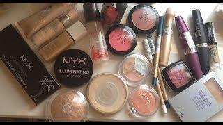 منتجات رخيصة لكامل الوجه - Drugstore products for full face application