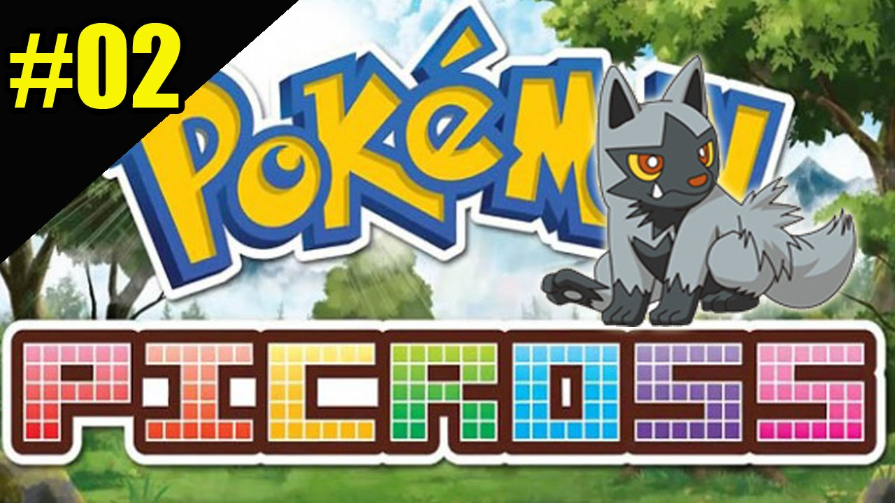 Pokemon picross 02 poochyena n01 01 gameplay 3ds youtube for Mural 01 pokemon picross