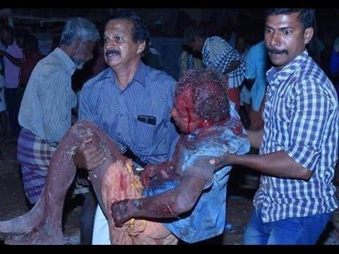 Kollam Paravur Fire Cracker Accident  - Paravoor Puttingal Meenabharani  Festival Accident